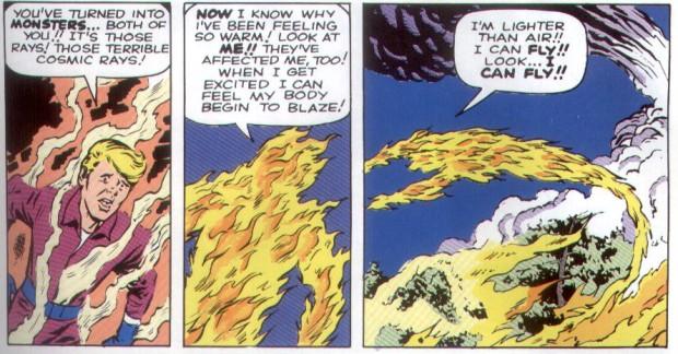 Kirby Human Torch