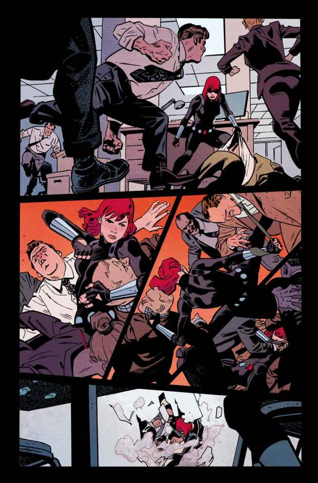 Samnee Black Widow Fight