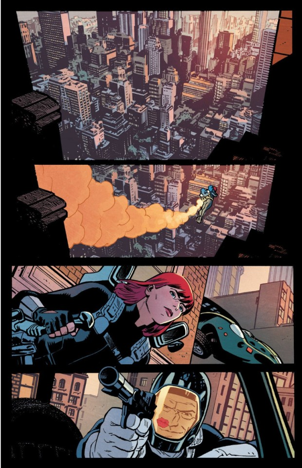 Samnee Black Widow Flying Car