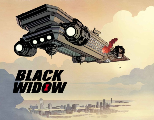 Samnee Black Widow Helicarrier