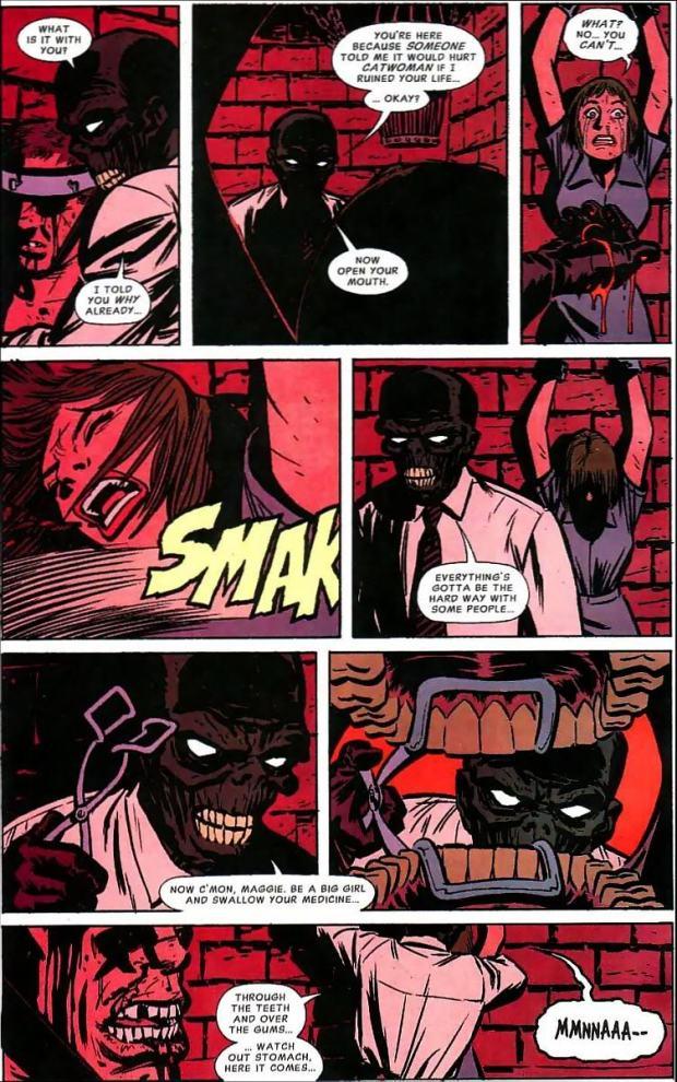 Stewart Catwoman Black Mask