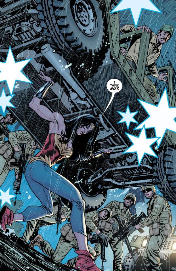 Paquette Wonder Woman Lift