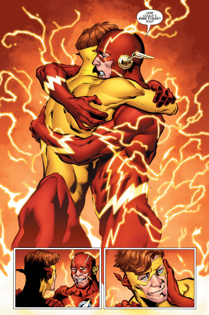Rebirth Flash Hug