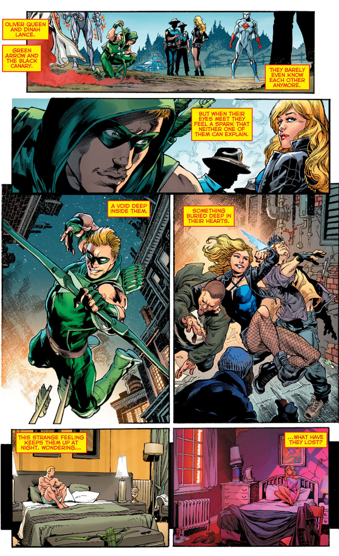 Rebirth Green Arrow Black Canary
