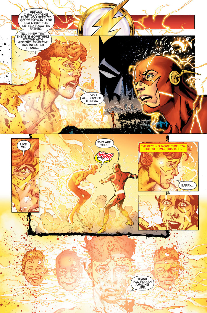 Rebirth Kid Flash Thank You