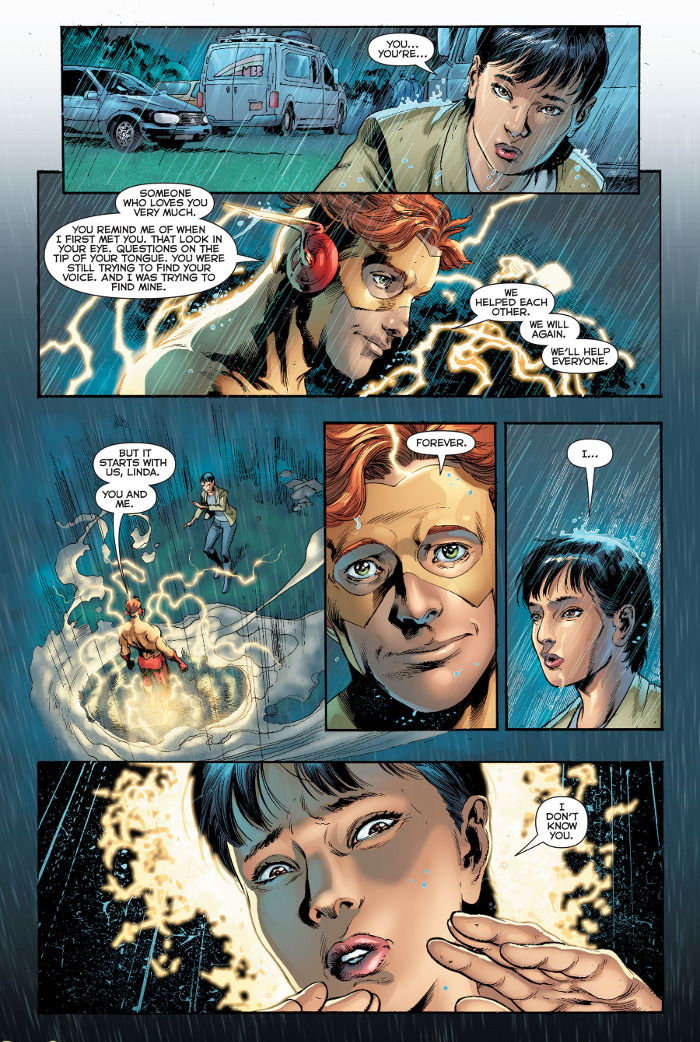 Rebirth Wally Linda