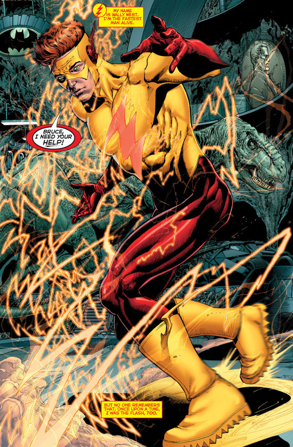 Rebirth Wally West