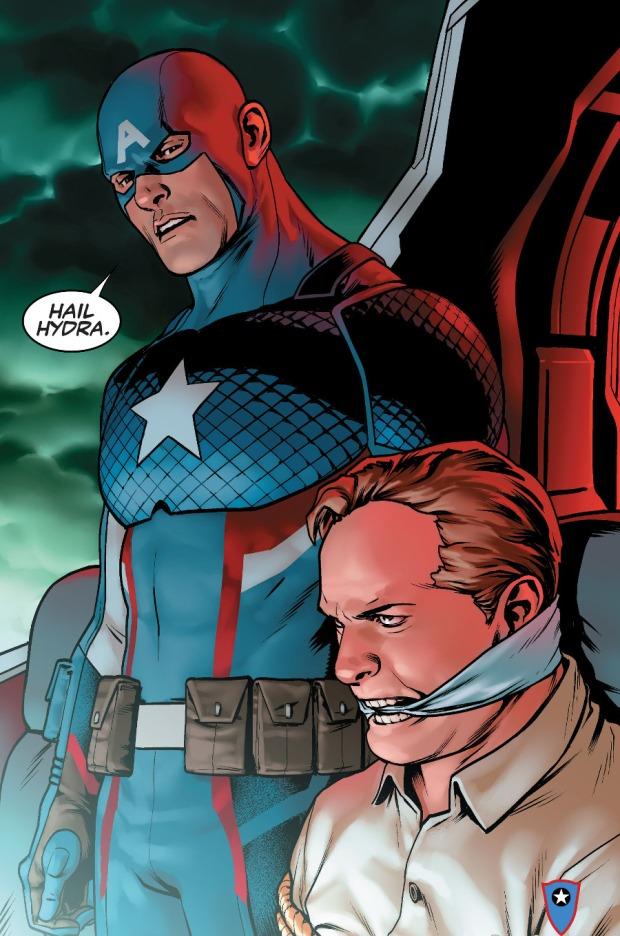 Saiz Captain America Hail Hydra