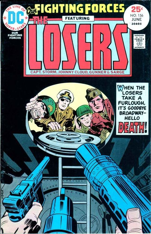 Kirby Losers 156 Cover