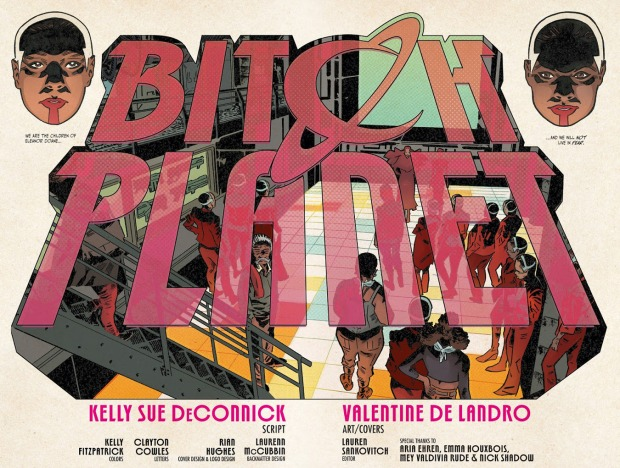 Valentine Bitch Planet 8 Doane