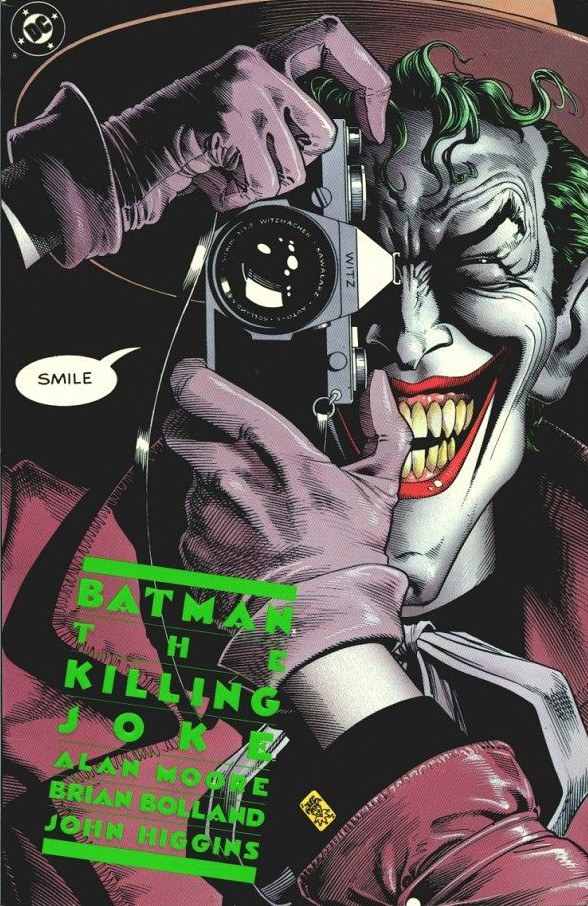 Bolland Killing Joke Cover