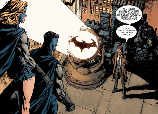 Finch Batman 2 Bat Signal