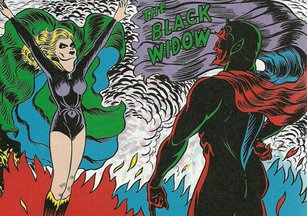 Golden Age Black Widow