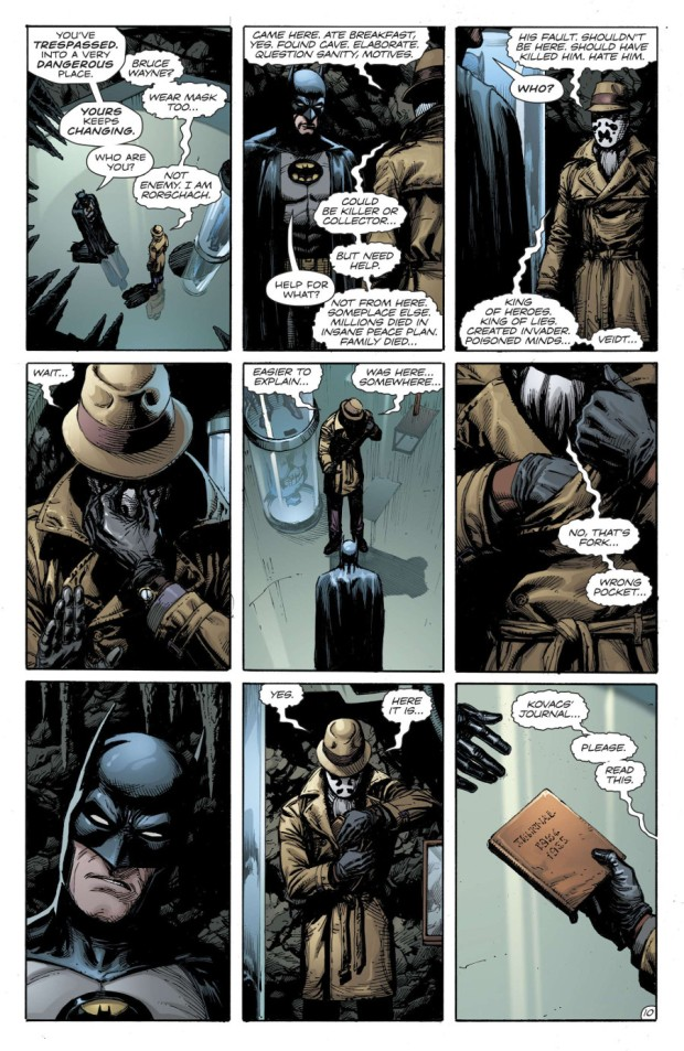And Out Come The Knives Doomsday Clock Part Two Dork Forty