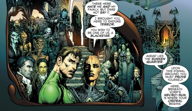 Sharp Green Lantern 5 Vampires